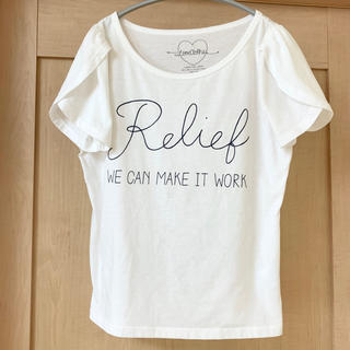 ヘザー(heather)のHeather 白Tシャツ 半袖(Tシャツ(半袖/袖なし))