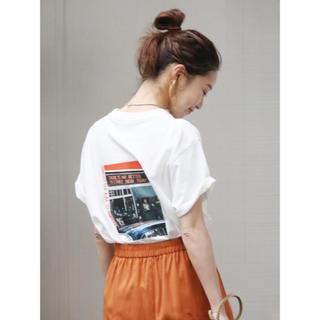 アングリッド(Ungrid)のungrid カラーフォトtee Tシャツ(Tシャツ(半袖/袖なし))