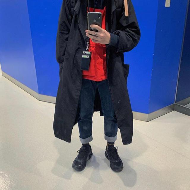 COMOLI(コモリ)のteatora  テアトラ デバイスコート パッカブル サイズ2 メンズのジャケット/アウター(ステンカラーコート)の商品写真