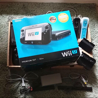 任天堂 - Nintendo Wii U プレミアムセット KURO