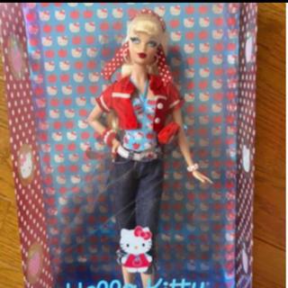 バービー(Barbie)のバービー人形 ハローキティ 限定 レア(ぬいぐるみ/人形)
