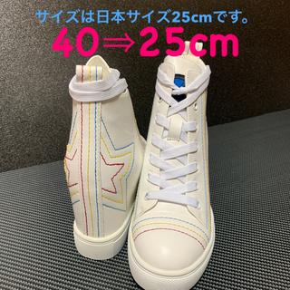 ヨースケ(YOSUKE)の【新品】ヨースケ ヒールアップスニーカー(スニーカー)