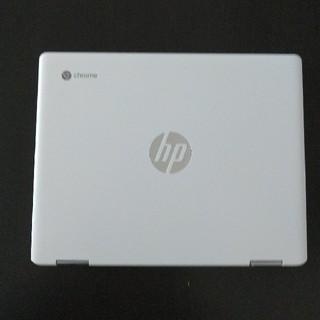 ヒューレットパッカード(HP)のHP chromebook セラミックホワイト x360 12b 未使用(ノートPC)