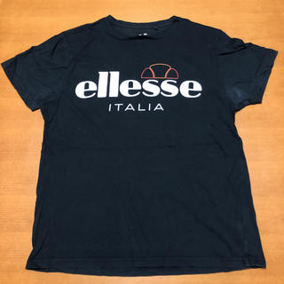 エレッセ(ellesse)のエレッセ Tシャツ デカロゴ ビッグシルエット L(Tシャツ/カットソー(半袖/袖なし))