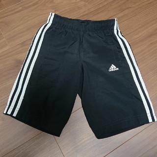 adidas - adidas ハーフパンツ 黒 120 キッズ