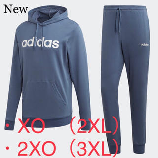 adidas - 新品 adidas アディダス スウェット上下セット 青 2XL・3XL