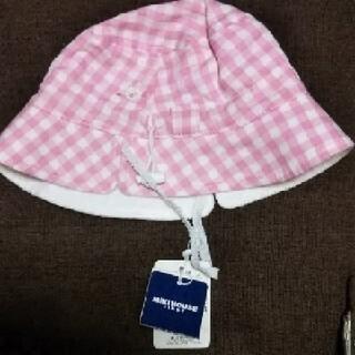 ミキハウス(mikihouse)のミキハウス 帽子 新品 40~44 (検 出産準備  ファミリア ディズニー  (帽子)