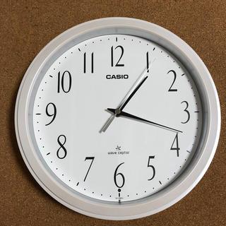 カシオ(CASIO)のCASIO 電波式掛時計 IQ-1060J(掛時計/柱時計)