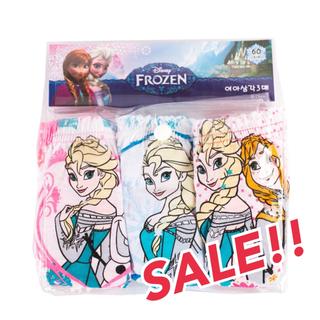 Disney - 新品 ! アナ雪 100 パンツ ショーツ 下着 肌着 子供服 アナと雪の女王