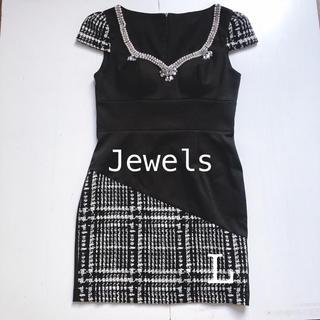 ジュエルズ(JEWELS)の美品 Jewels キャバドレス  L(ミニドレス)