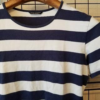 マリメッコ(marimekko)のmarimekko MIKA PIIRAIKEN 太ボーダー 半袖カットソー(Tシャツ(半袖/袖なし))