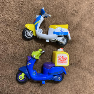 Disney - ディズニーモータース チムチム ドナルド リトルグリーンメン ミニカー 12