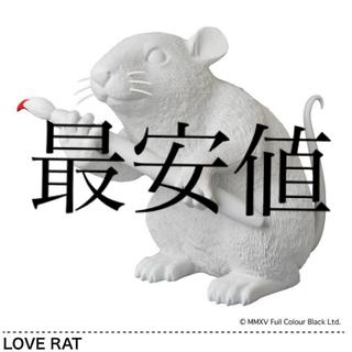 メディコムトイ(MEDICOM TOY)のsync . LOVE RAT white ver. 国内正規品 banksy(その他)