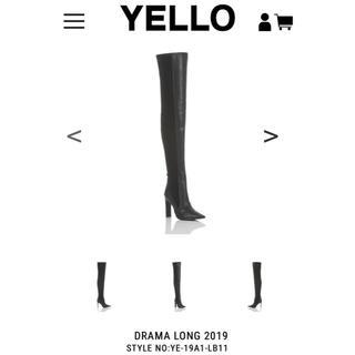アリシアスタン(ALEXIA STAM)の完売品 yello DRAMA LONG ブーツ ニーハイブーツ(ブーツ)