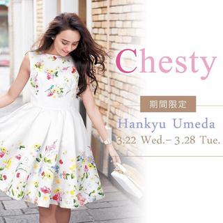 Chesty - chesty花柄ワンピース