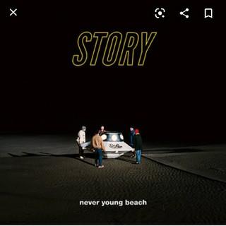 never young beach LPレコード story