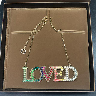 Gucci - 正規品 GUCCI グッチ LOVED ネックレス