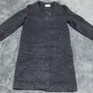 フレイアイディー(FRAY I.D)のFRAY ID フレイアイディー ノーカラーコート レディースファッション(トレンチコート)