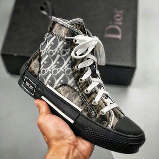 Balenciaga - Dior B23 Oblique High Top Sneakers