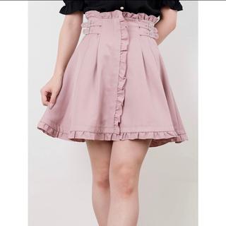 ロジータ(ROJITA)のROJITA サイドバックルハイウエストスカート ピンク(ミニスカート)