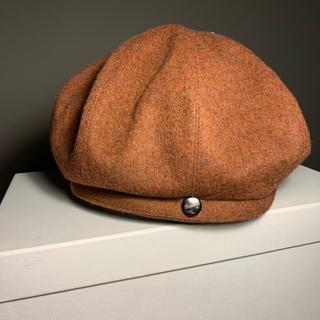 Borsalino - ボルサリーノ 日本製 ベレー帽 キャスケット ブラウン ベージュ