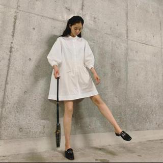 アメリヴィンテージ(Ameri VINTAGE)のameri medi box tunic shirts(ひざ丈ワンピース)