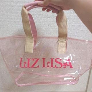 リズリサ(LIZ LISA)の新品 リズリサ ビニールトートバッグ(トートバッグ)