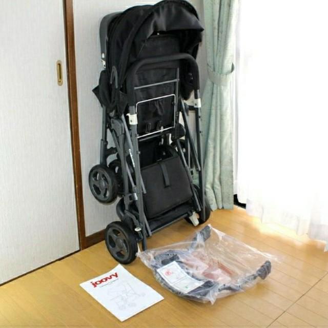 ジュービー二人乗りベビーカー キッズ/ベビー/マタニティの外出/移動用品(ベビーカー/バギー)の商品写真