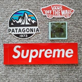 パタゴニア(patagonia)のパタゴニア1枚  、ノースフェイス1枚、supreme1枚、バンズ1枚(その他)