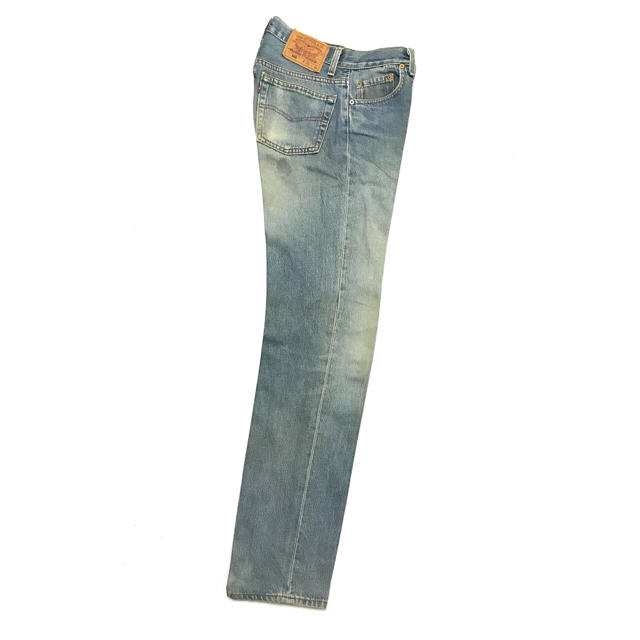Levi's(リーバイス)の90's Levi's 501 29×36 Blue×Green Faded メンズのパンツ(デニム/ジーンズ)の商品写真