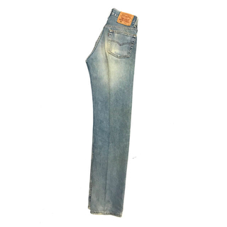 Levi's - 90's Levi's 501 29×36 Blue×Green Faded