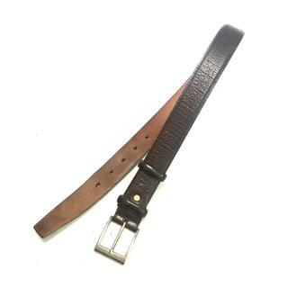 Ermenegildo Zegna - ERMENEGILDO ZEGNA Luxury Leather Belt