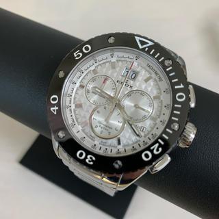 エドックス(EDOX)のエドックス クラスワン ビッグデイト クロノグラフ(腕時計(アナログ))