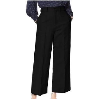 スナイデル(snidel)の【snidel】ブラック レディースファッション リネンワイドパンツ(その他)