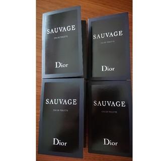 クリスチャンディオール(Christian Dior)のChristian Dior ディオール ソヴァージュ 香水 ミニ 4個(香水(男性用))