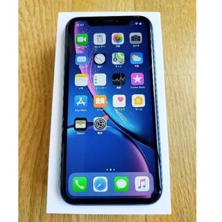 iPhone - Apple iphoneXR 64G au ブルー 赤ロム 美品