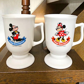 Disney - 東京ディズニーランド 開園当初 ペアコップ