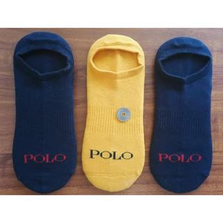ラルフローレン(Ralph Lauren)の新品ポロラルフローレン メンズ靴下 ソックス  3足セット1(ソックス)
