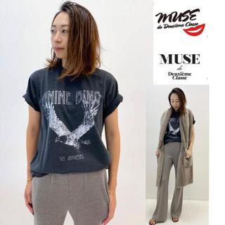 DEUXIEME CLASSE - 新品未使用 MUSE 【ANINE BING/アニービン】 イーグルTシャツ