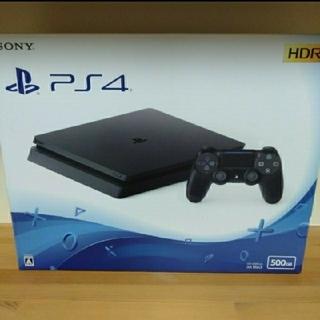 PlayStation4 - PlayStation4 JetBlack 500G