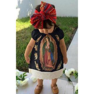 要コメント♡ 一年中着れる♡レア♡聖母マリア♡ワンピース♡ドレス♡バンダナ付き(ワンピース)