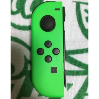 Nintendo Switch - 任天堂Switch ジョイコン ネオングリーン 左②