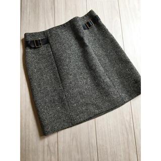 ビッキー(VICKY)の⭐︎未使用品⭐︎『ビッキー⭐︎VICKY』留め具にロゴの施された素敵なスカート(ひざ丈スカート)