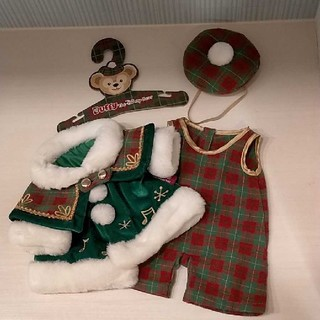 ダッフィー(ダッフィー)のダッフィー 2012年クリスマスコスチューム ディズニーシー 聖歌隊(ぬいぐるみ)