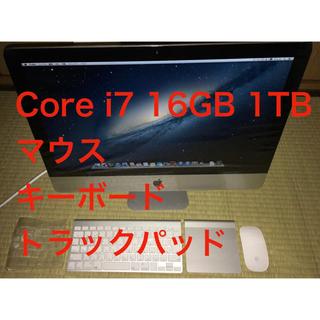 Apple - iMac 21.5インチ Core i7 16GB 1TB 2012 付属品あり