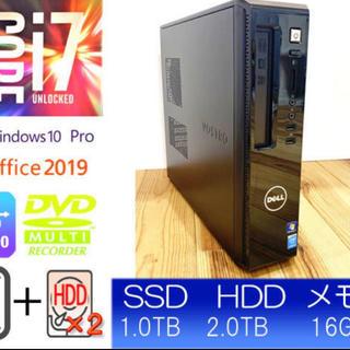 デル(DELL)の超高速DELL Vostro3800 (検 optiplex7020 9020(デスクトップ型PC)