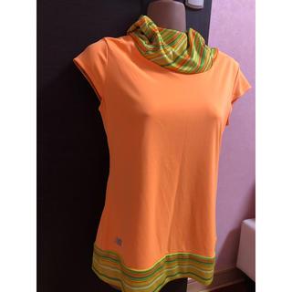 ニューバランス(New Balance)のスポーツウエア オレンジTシャツ(ウェア)