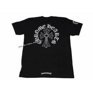 Chrome Hearts - 新品 クロムハーツ Tシャツ CHクロス ネックロゴ ブラック