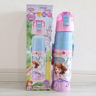 ディズニー(Disney)のラスト❗ ソフィア 新品 超軽量 2wayステンレスボトル 470ml(水筒)