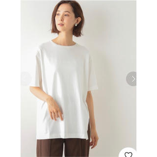 レプシィム(LEPSIM)の【完売アイテム!!】サイドアシメヘムT半袖(Tシャツ(半袖/袖なし))
